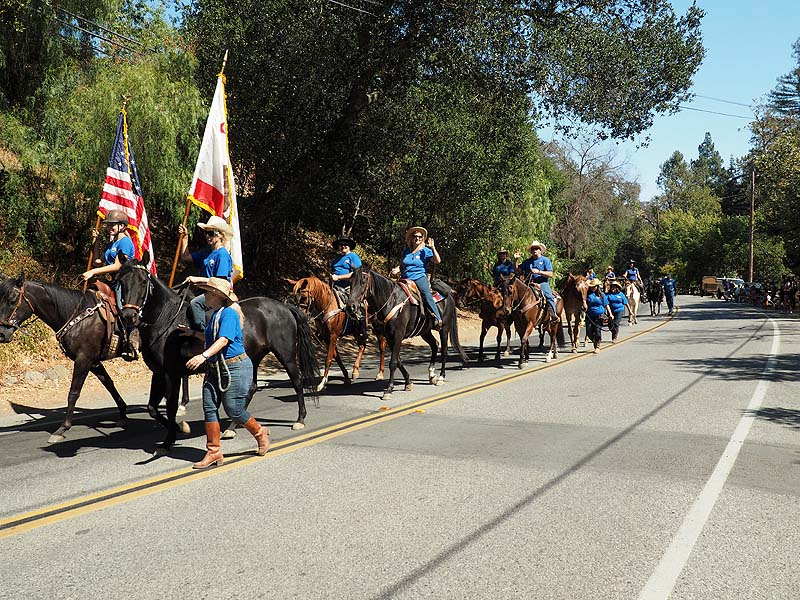New Almaden Jump-In Parade, 9/13/14