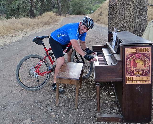 Piano at the Hacienda Staging Area to Almaden Quicksilver