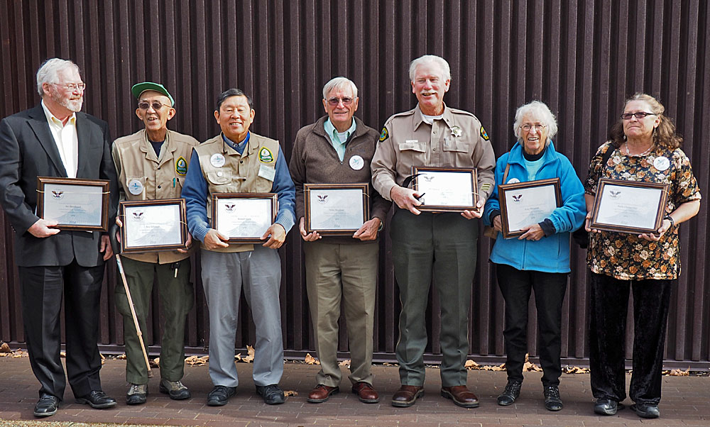 Recipients of Lifetime Presidential Volunteer Service Award