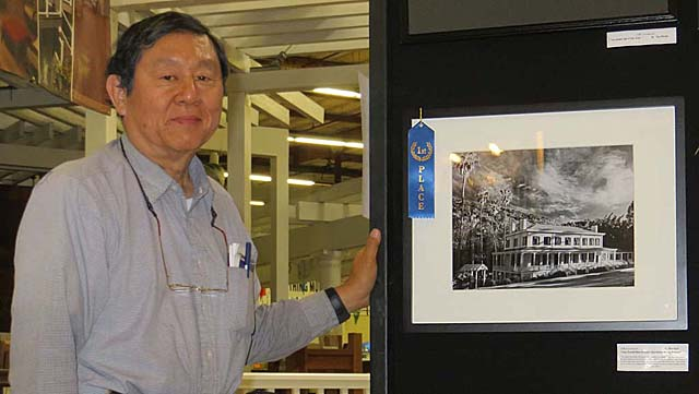 Ron Horii's award-winning picture of the Casa Grande