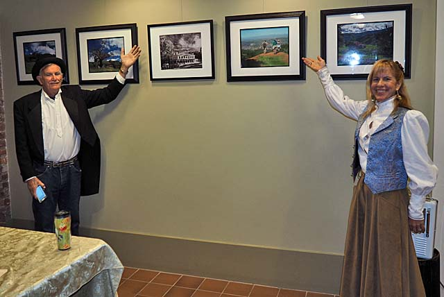 Ron Horii's pictures on display at the Casa Grande