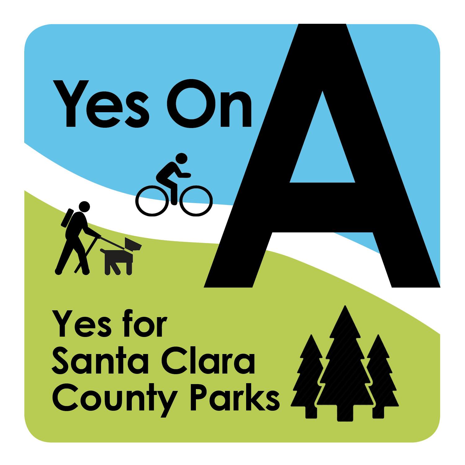 Yes On Parks logo